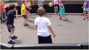 photo for the benefits of gaga ball game