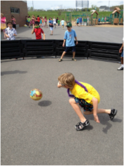 gaga ball game action